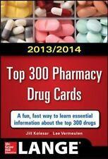 2014-2015 Top 300 Pharmacy Drug Cards by Vermeulen, Lee, Kolesar, Jill M.. 00718