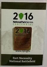 National Park Service Centennial Pin Fort Necessity National Battlefield