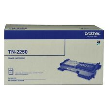 3x Brother Genuine TN-2250 Toner For FAX 2840 HL2250DN MFC7240 7860DW 2.6K Pages