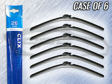 "AUTOTEX CLIX 26"" WIPER BLADE - CLIX-26 - CASE OF 6 - REPLACES IN 10 SECONDS"