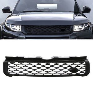 BLACK DYNAMIC STYLE LOOK FRONT GRILL GRILLE FOR RANGE ROVER EVOQUE L551 16-18