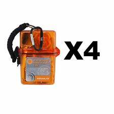 Ultimate Survival Technologies Watertight Survival Kit 1.0 Emergency (4-Pack)
