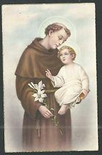 postale Ancienne de San Antonio de Padua andachtsbild santino holy card estampa