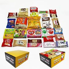 "Korean Popular snacks. All(29pcs) in One Box.(""THANK YOU"" BOX)"