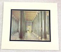 1983 Vintage Stampa The Inverno Palazzo Russia Romanov Galleria Di Manoscritti