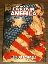 Captain America Death of Vol 1 by Ed Brubaker (Hardback)< 9780785128496