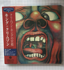 KING CRIMSON - In the Court of the Crimson JAPAN MINI LP GOLD CD NEU! PCCY-01421