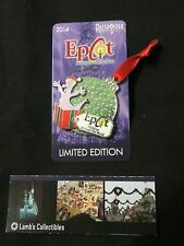 Epcot Holidays Around The World 2014 Annual Passholder Figment Limited Ed pin