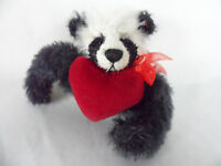Deb Canham Panda Pin Heart Collectors Club