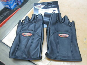 Harley Davidson Womens Classic Fingerless Leather Glove 98304-12VW