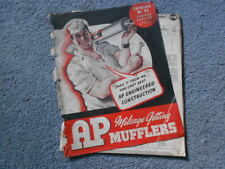 1942 AP MUFFLERS CATALOG No. 22 JOBBER EDITION & PRICE LIST ARMY CAR TRUCK ORIG