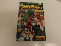 Marvel Comics Daredevil #123 Rare Double Cover Black Widow 1975