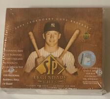 2004 Upper Deck SP Legendary Cuts Factory Sealed Baseball Hobby Box FASC
