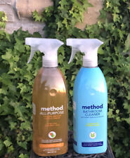 Method All Purpose Natural Surface Cleaning & Bathroom Cleaner Spray Ginger Yuzu