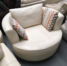 Leather Cuddle Chair Sofas : cuddle chair leather - Cheerinfomania.Com