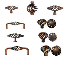 Antique Copper Birdcage Kitchen Cabinet Drawer Knobs Pulls  60 76 96mm