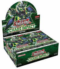 Yu-Gi-Oh! Chaos Impact Sealed 1st Edition Booster Box (Yugioh)