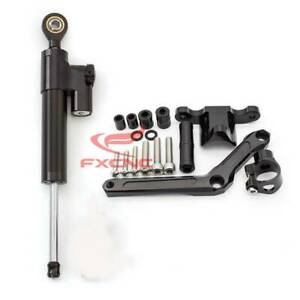 For Benelli BN 600 BJ C1 CNC Steering Damper Stabilizer+Mounting Bracket Kits