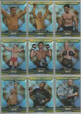 "UFC Round 4 2010 - ""Octagon of Honor"" Set of 10 Chase Cards #OOH1-OOH10"