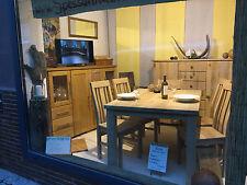 Essgruppe Küchentisch Tisch Esszimmer Stuhl Aus Eiche Massivholz