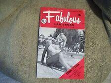 Fabulous Las Vegas Magazine Elvis Presley Show Revue & Pneumonia Bout 2/10/1973