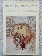 WIND IN WILLOWS~Kenneth Grahame~ARTHUR RACKHAM~Heritage 1962 HCDJ~A.A.Milne~