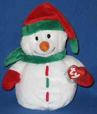 TY ICICLES the SNOWMAN PLUFFIES - MINT with MINT TAGS