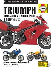Triumph Sprint ST Speed Triple Tiger 1050i 1050 Haynes Manual 4796