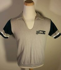 Vintage 70's 80's College Sweatshirt T Shirt Polo thing Large 50/50 School