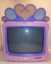 2004 Disney CRT Color Television Model#DT1350-P Good Condition