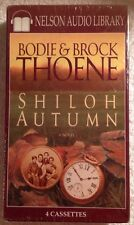 "Bodie & Brock Thoene ""Shiloh Autumn"" (NEW SEALED 4 AUDIO CASSETTES) RARE HTF"