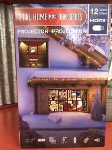 ProductWorks Total Home FX 800 Series Window Projector 12 videos + FREE SPEAKERS