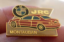 BEAU PIN'S VOITURE BMW ROUGE SERIE 3 GARAGE JRC MONTAUBAN