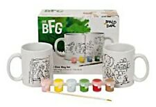 BFG & Sophie Paint Your Own Mug Design Set Roald Dahl Childrens Craft Kit NEW