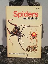 1968 100100 Spiders and Their Kin GOLDEN GUIDE NO ISBN UPC Mites Lice Scorpions