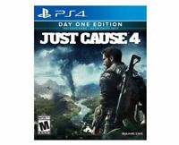 Just Cause 4 - Day One Edition Playstation 4 (PS4) - Brand New Sealed