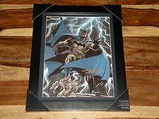 "BATMAN 12.5"" x 9.5"" ARTPRINT SIGNED BY ARTIST NEAL ADAMS~CUSTOM FRAMED, MUST SEE"