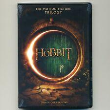 3 movies: HOBBIT Trilogy, PG-13 fantasy adventure, new DVD set, Smaug, Armies