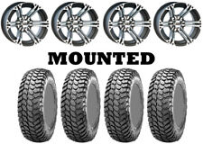 Kit 4 Maxxis Liberty Tires 28x10-14 on Itp Ss212 Machined Wheels Ter(Fits: More than one vehicle)