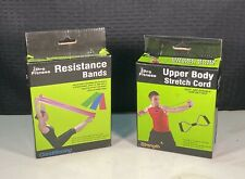 Pro Fitness Resistance Bands & Upper Body Stretch Cord