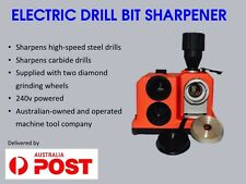 ELECTRIC  DRILL BIT SHARPENER (WITH 2 DIAMOND GRINDING WHEELS )