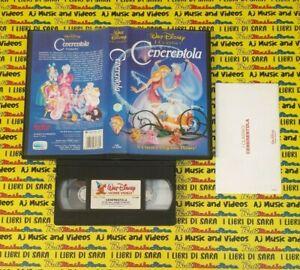 VHS film CENERENTOLA animazione 1992 WALT DISNEY VS 4380 (F225) (17*G) no dvd