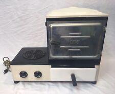 Vintage Schwartzbaugh EverHot Electric Rangette White/Black