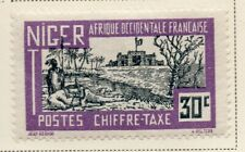 Niger 1927 Early question fine Comme neuf charnière 30 C. 324823