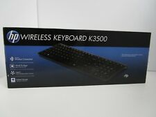 New HP K3500 Wireless Slim Keyboard for Pavilion - Black - H6R56AA#ABA