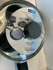 Pendeford Sapphire 20cm 4 Cup Egg Poacher With Non Stick Coating & Glass Lid