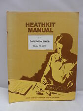 HEATHKIT manuale per la camera oscura Timer-modello PT-1500 1979-ILLUSTRATO