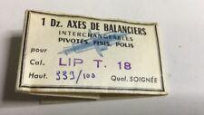 LIP T18 Axes Pivotés  , Balance Staff