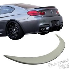 Unpainted For BMW 6-Series F13 M6-Type Coupe Rear Trunk Spoiler Wing ABS