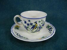 Villeroy and Boch Phoenix Blau Demitasse Cup and Saucer Set(s)